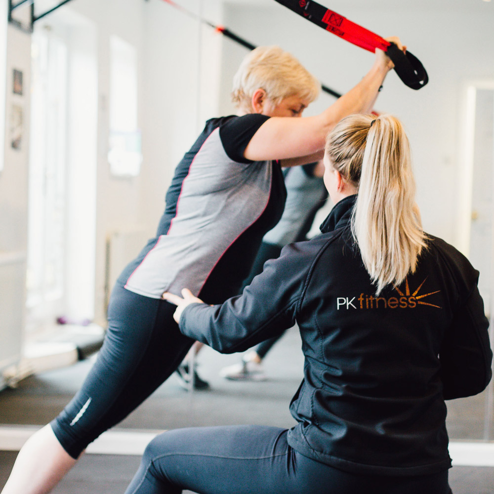 Personal Training with TRX suspension